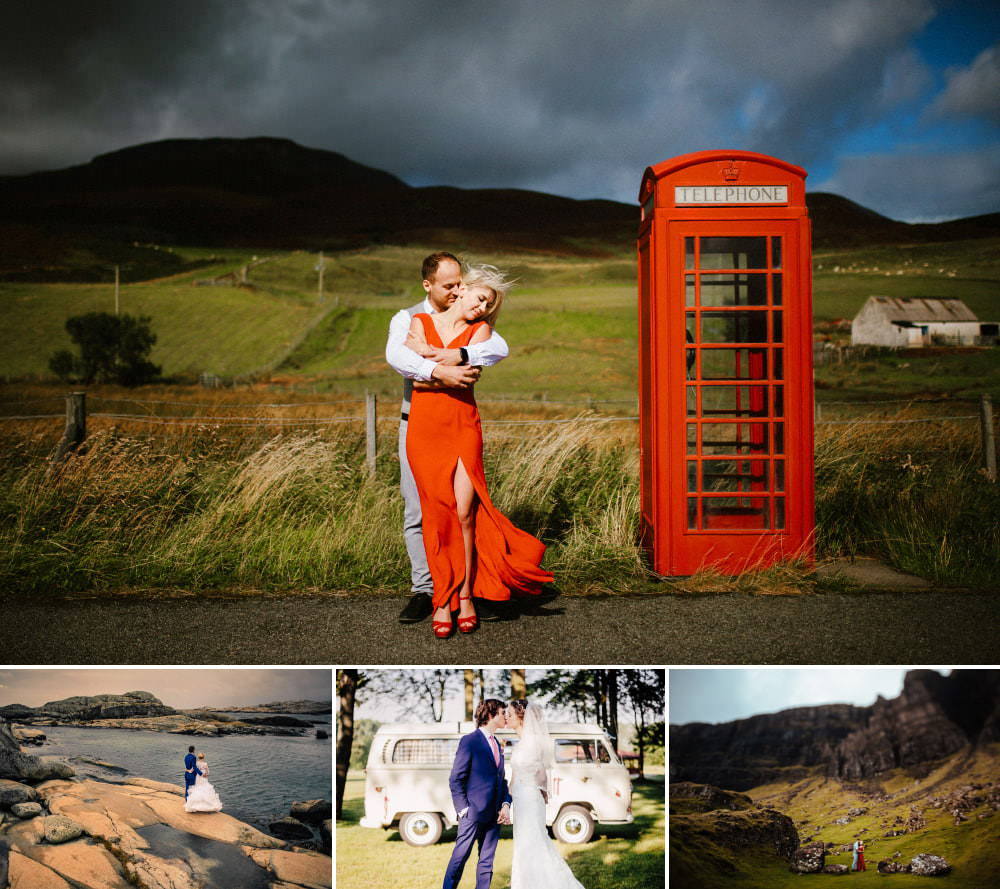 Bridal engagement or wedding photos - destination weddings