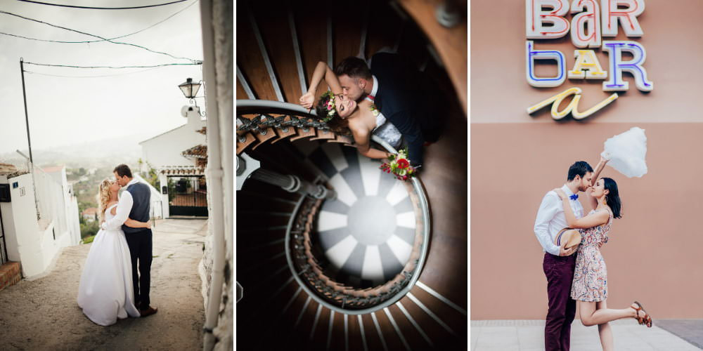 Destination wedding photographer Łukasz Gromolak
