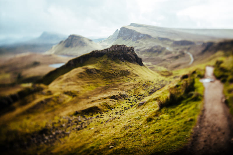 the quiraing - widokówka