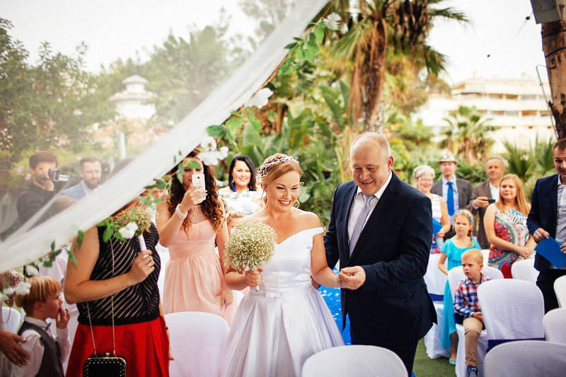 destination wedding Benalmadena Spain